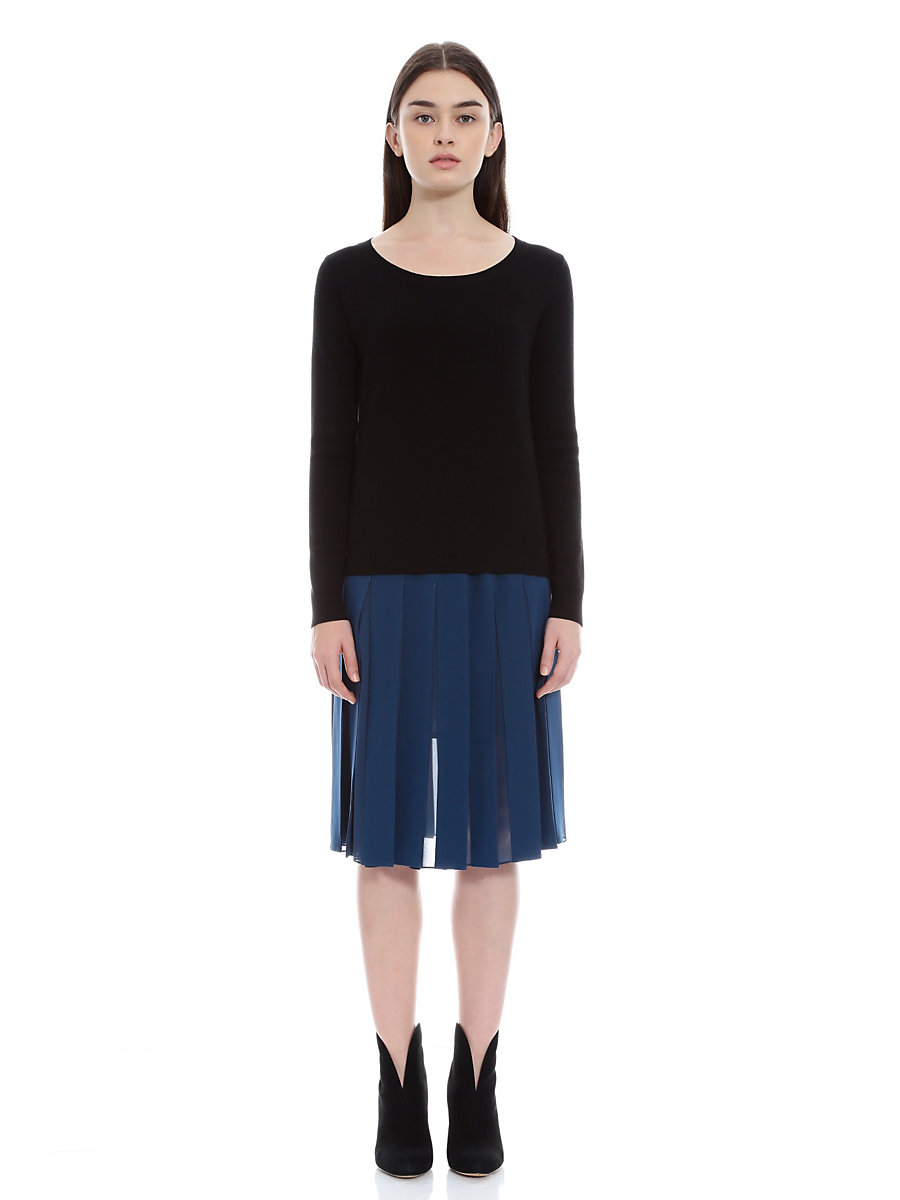 Lace Knit in Black by DVF