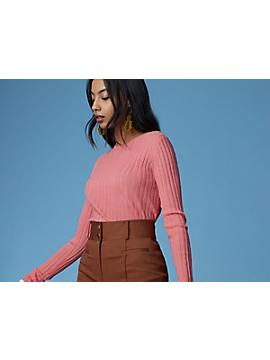 Fine Gauge Sweater by DVF