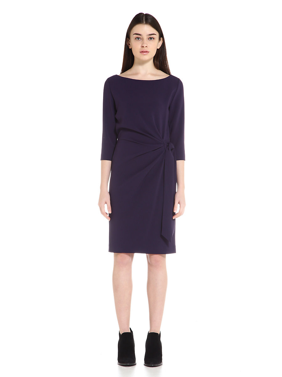 Andy Two Dress in Navy by DVF