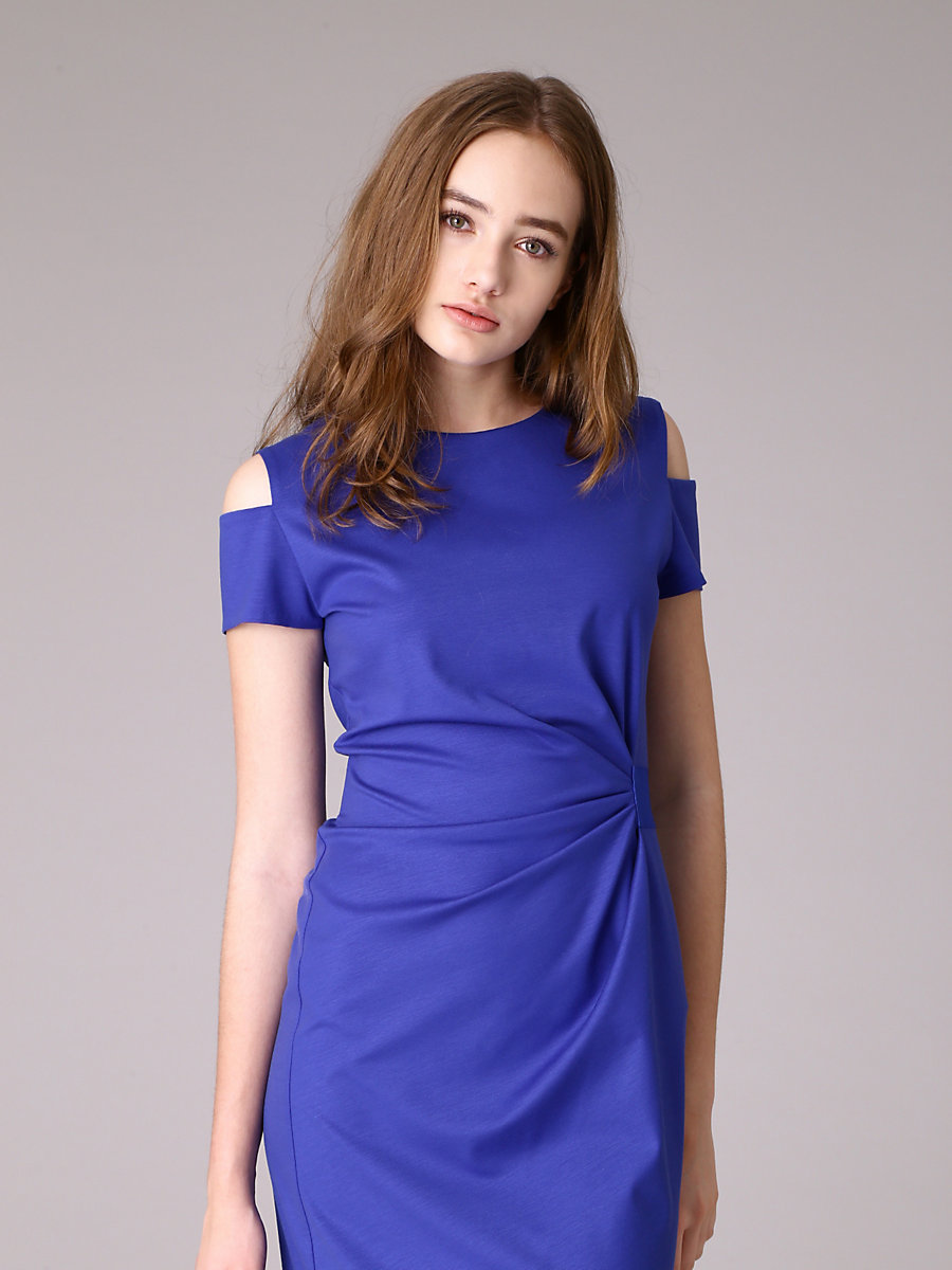 Donna Dress in Blue by DVF