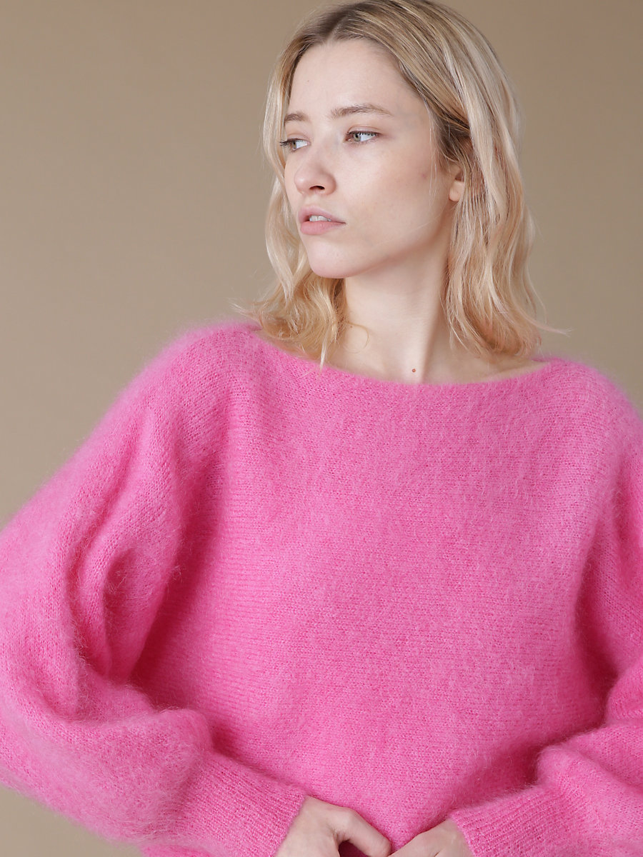 Mohair Knit in Pink by DVF