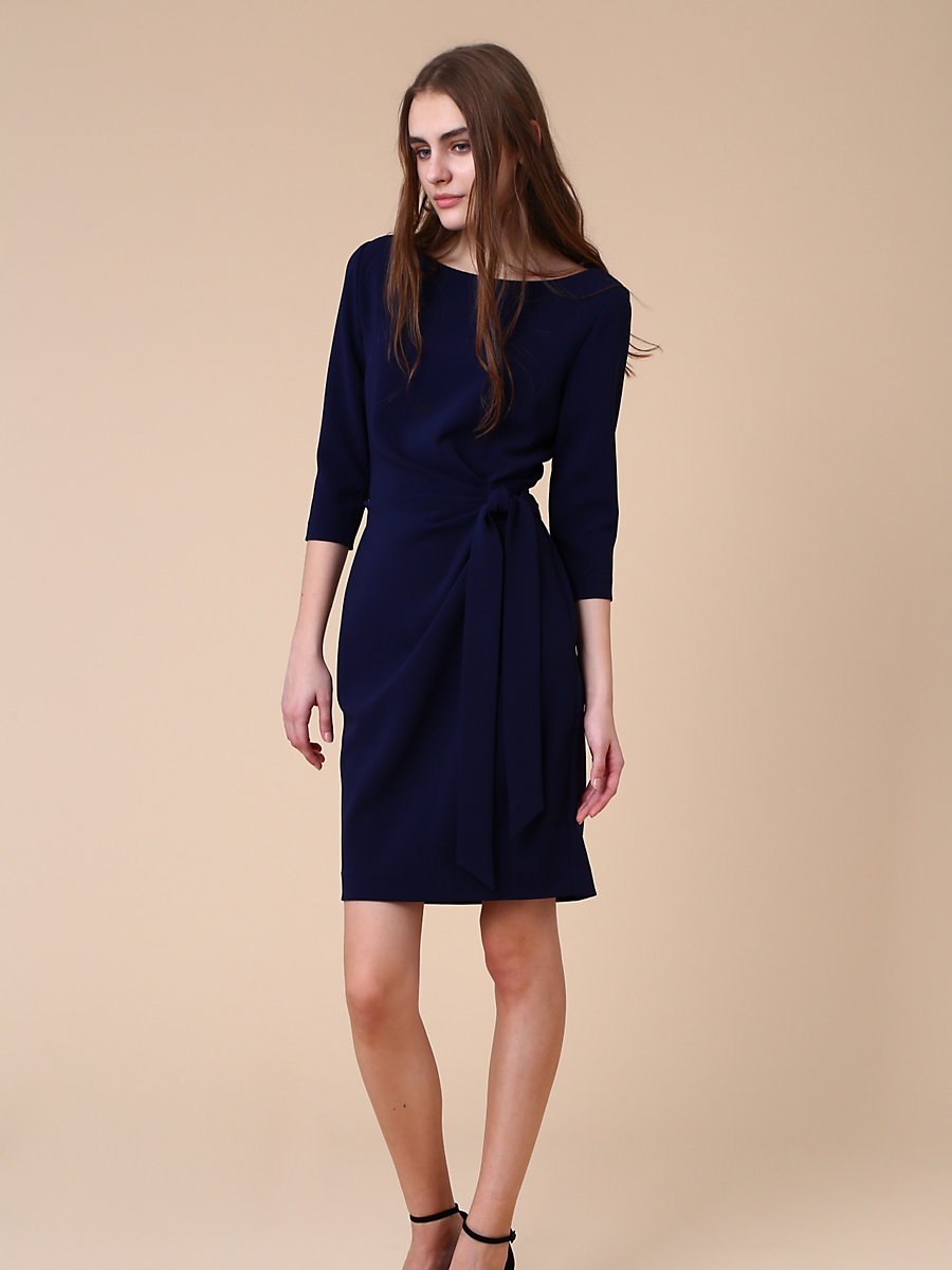 Andy Dress in Navy by DVF