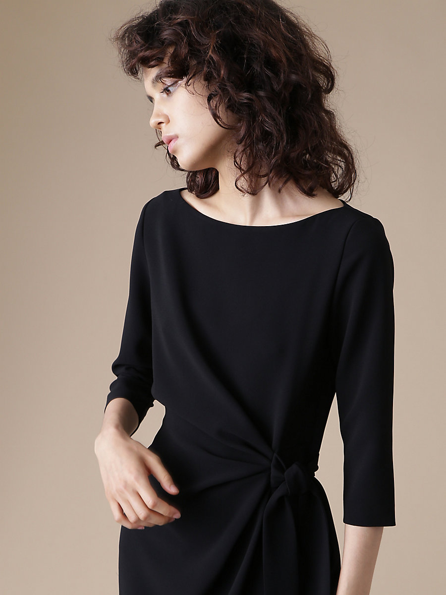 Andy Dress in Black by DVF