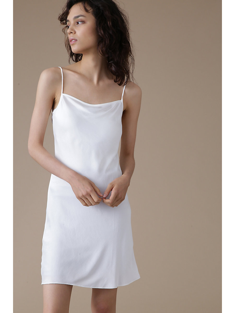 Inner Camisole Dress in White by DVF