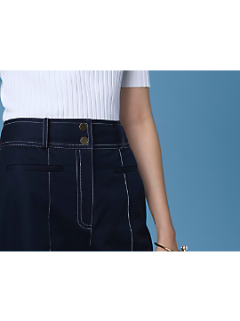 High-Waisted Culottes by DVF