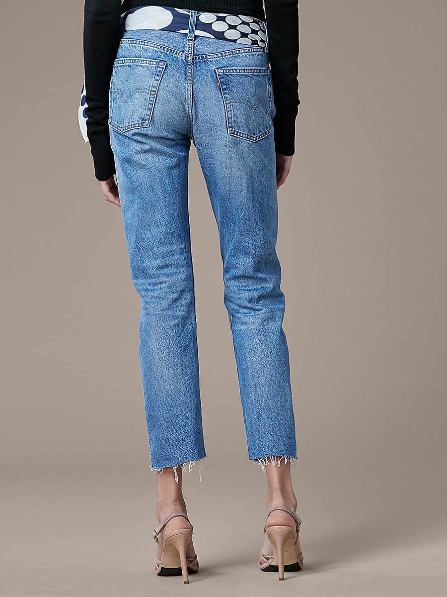 Levi's 501 Original in Into The Blue by DVF