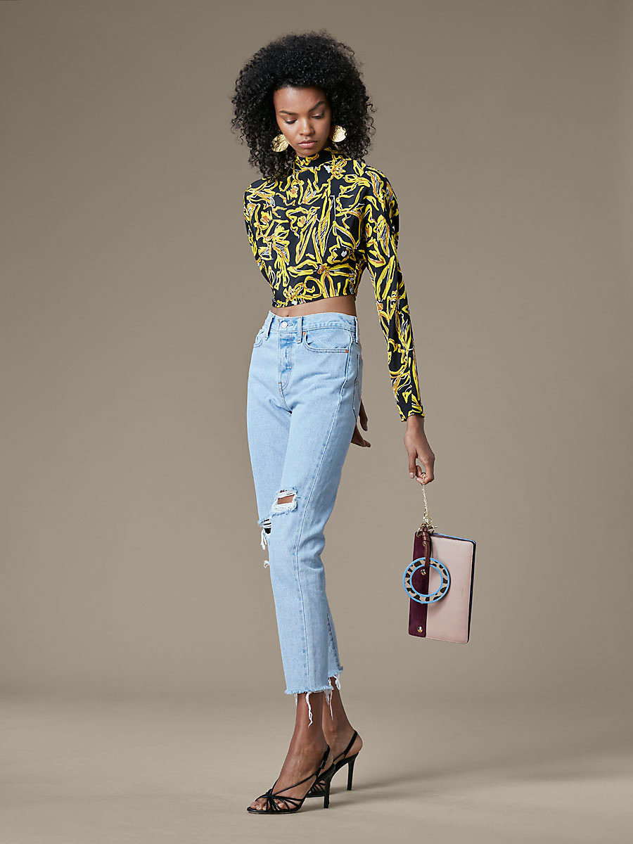 Levi's Wedgie Icon Fit Jeans in Kiss Off by DVF