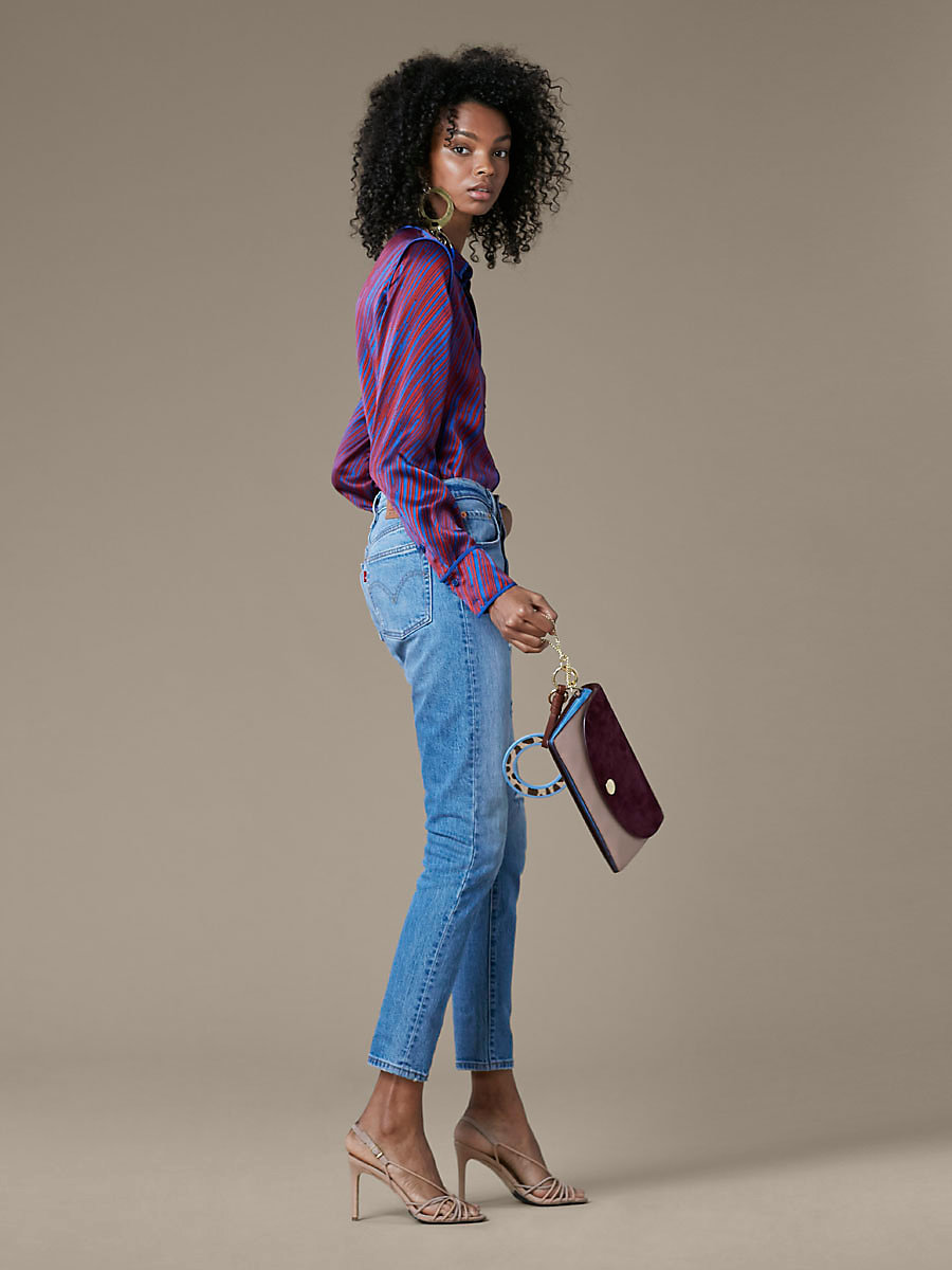 Levi's 501 Skinny Jeans in Post Modern Blues by DVF