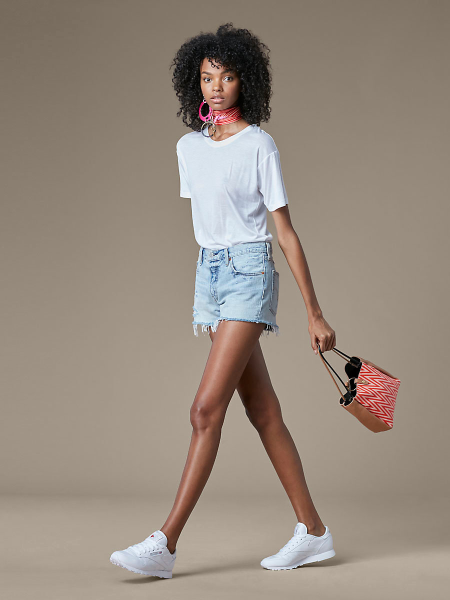 Levi's 501 Jean Shorts in Waveline by DVF