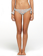 Dvf Loves Roxy Paneled Side Bikini Bottom