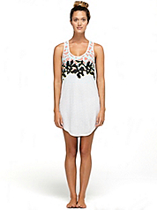 Dvf Loves Roxy Racer Back Dress