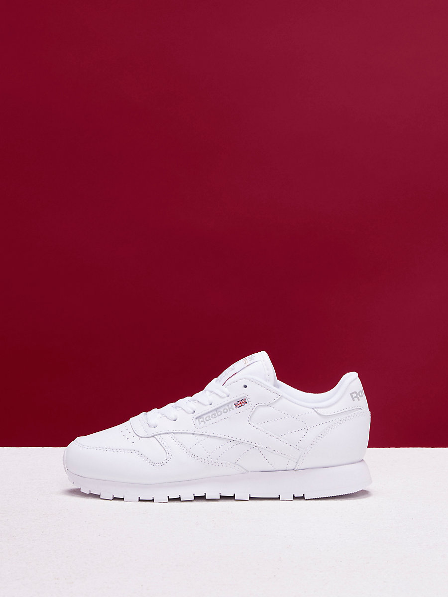 Reebok Classic Leather Sneakers in White by DVF