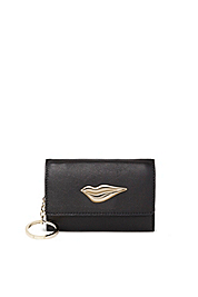 Lips Leather Card Case