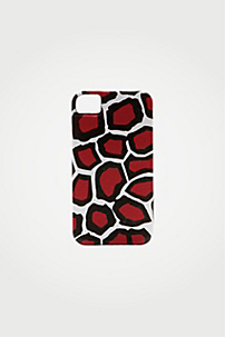 in Stone Leopard Red
