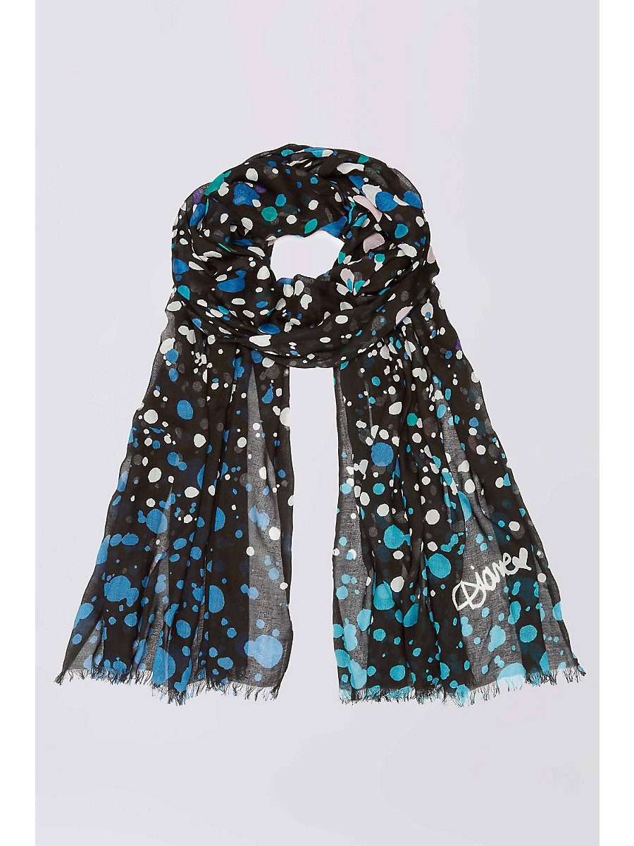 Hanovar Modal Scarf in Orbit Black Scarf by DVF