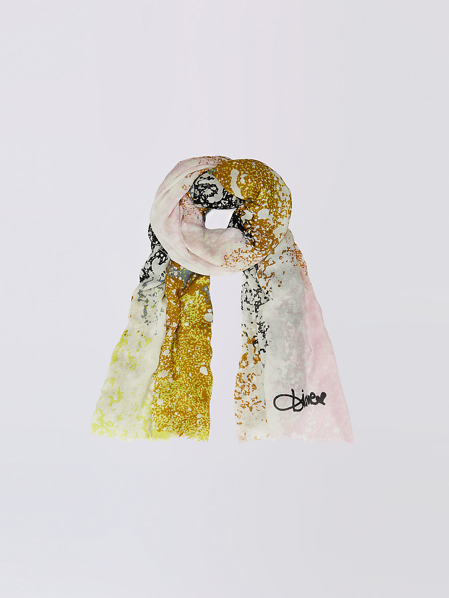 Grace Modal Scarf in Stella Fresco Rock Scarf by DVF