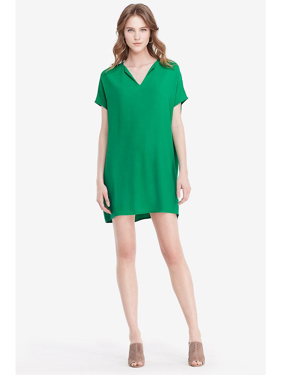 DVF Kora Tunic Dress in Paris Green by DVF