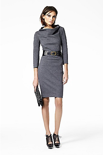 Maidey Dress in Black: DIANE von FURSTENBERG