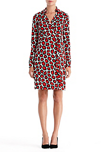 in Stone Leopard Medium Red Inver