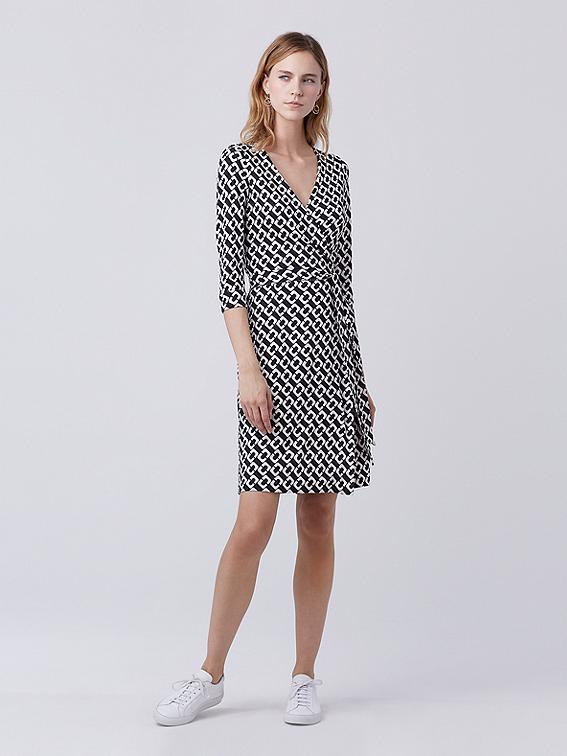 Silk Dresses nz Two Silk Jersey Wrap Dress