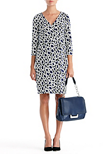 in Stone Leopard Medium Blue