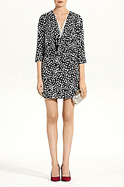 Rachel Silk Jersey Mini Dress