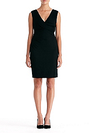 Parker Sleeveless Ruched Dress