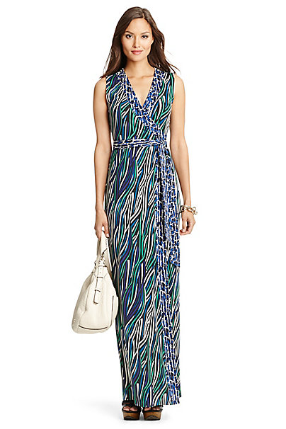 Image Result For Dvf Yahzi Maxi Dress