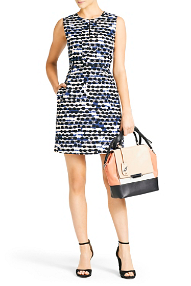DVF dress margerina