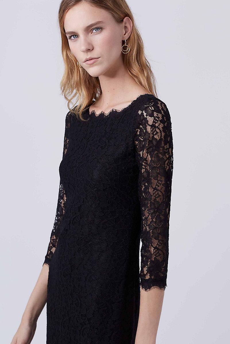 Black dress lace sleeves - Black Dress Lace Sleeves 59
