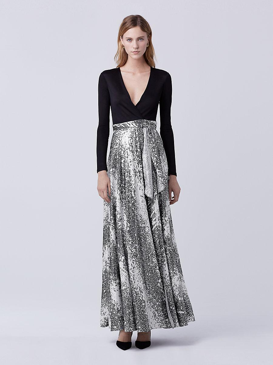 Designer Evening Gowns &amp Silk Formal Dresses  DVF