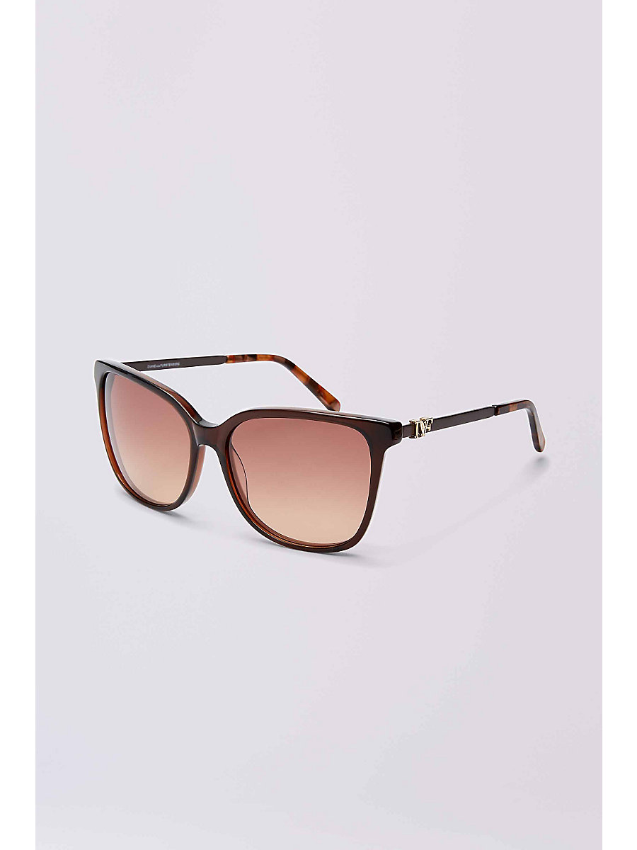 Joanna Sunglasses in Milky Burgundy by DVF