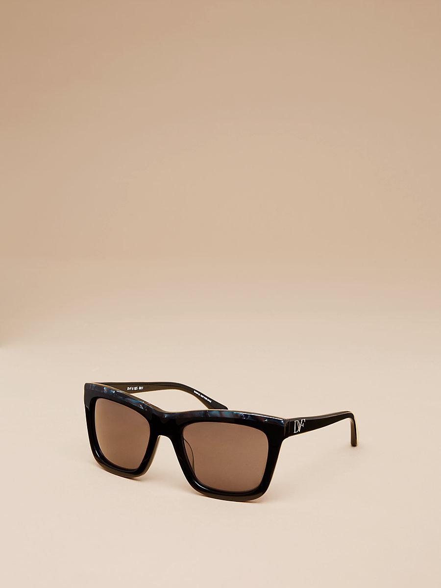 Daisy Sunglasses in Black by DVF