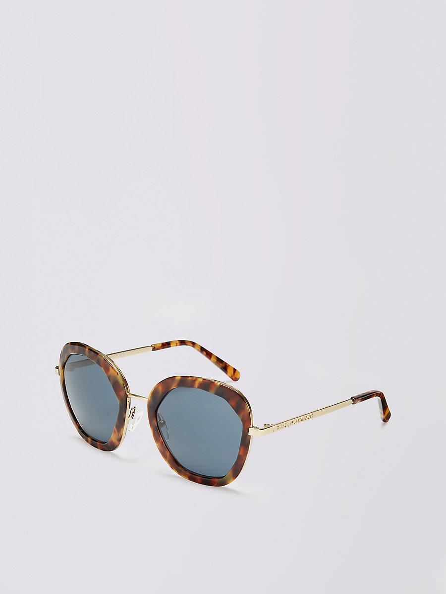 Adeline Sunglasses in Tokyo Tortoise by DVF