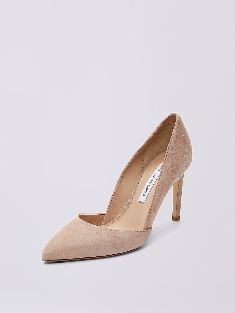 Lille Pump in Powder by DVF