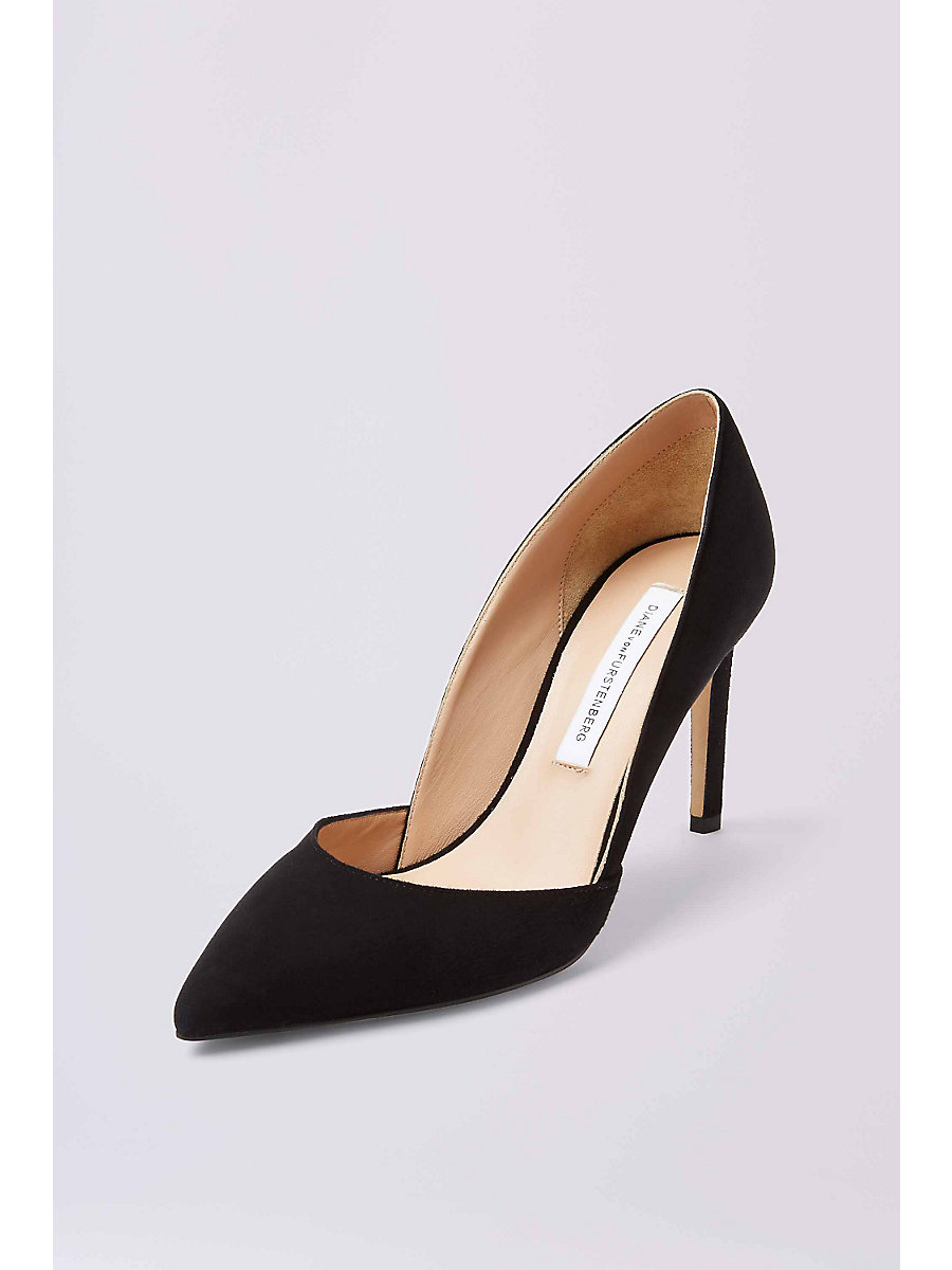 Lille Pump in Black by DVF