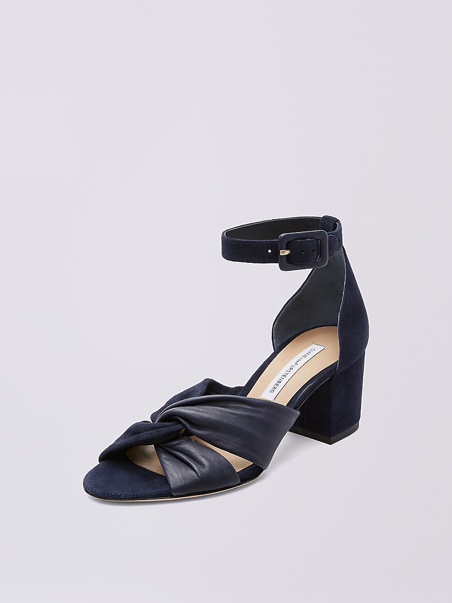Pasadena Heel in Abyss by DVF