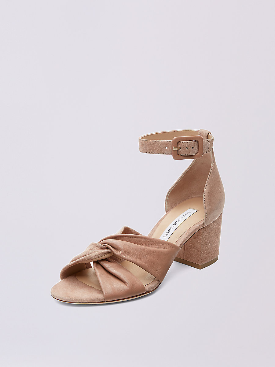 Pasadena Heel in Powder by DVF