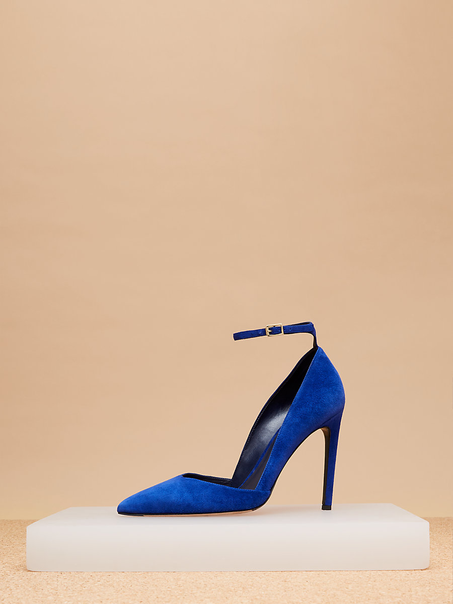 Laredo Pump in Ultrablue by DVF