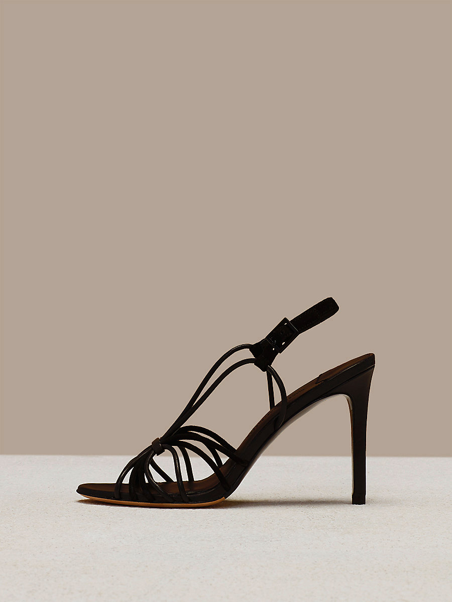 Milena Heel in Black by DVF