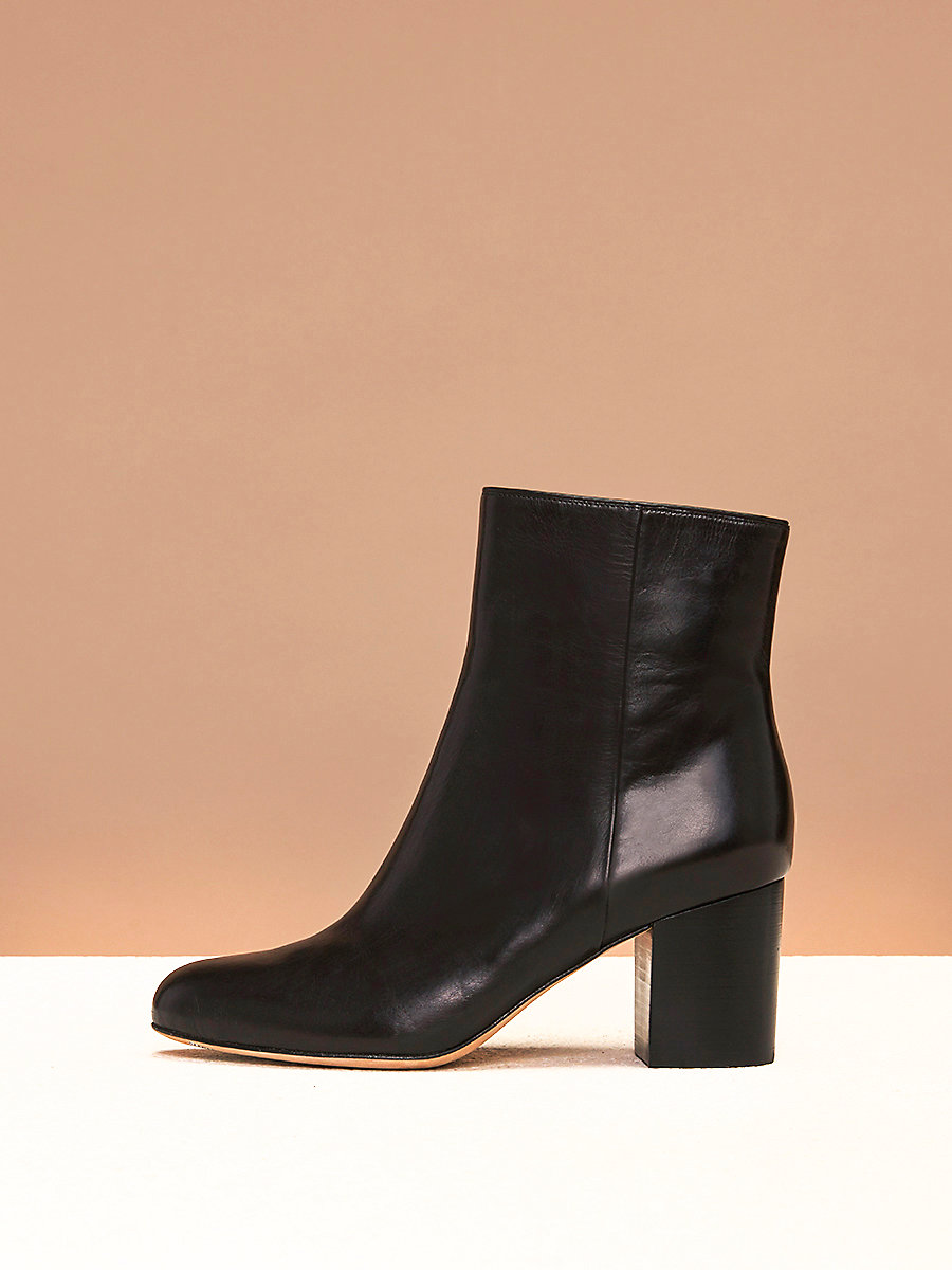 Lannux Boots in Black by DVF