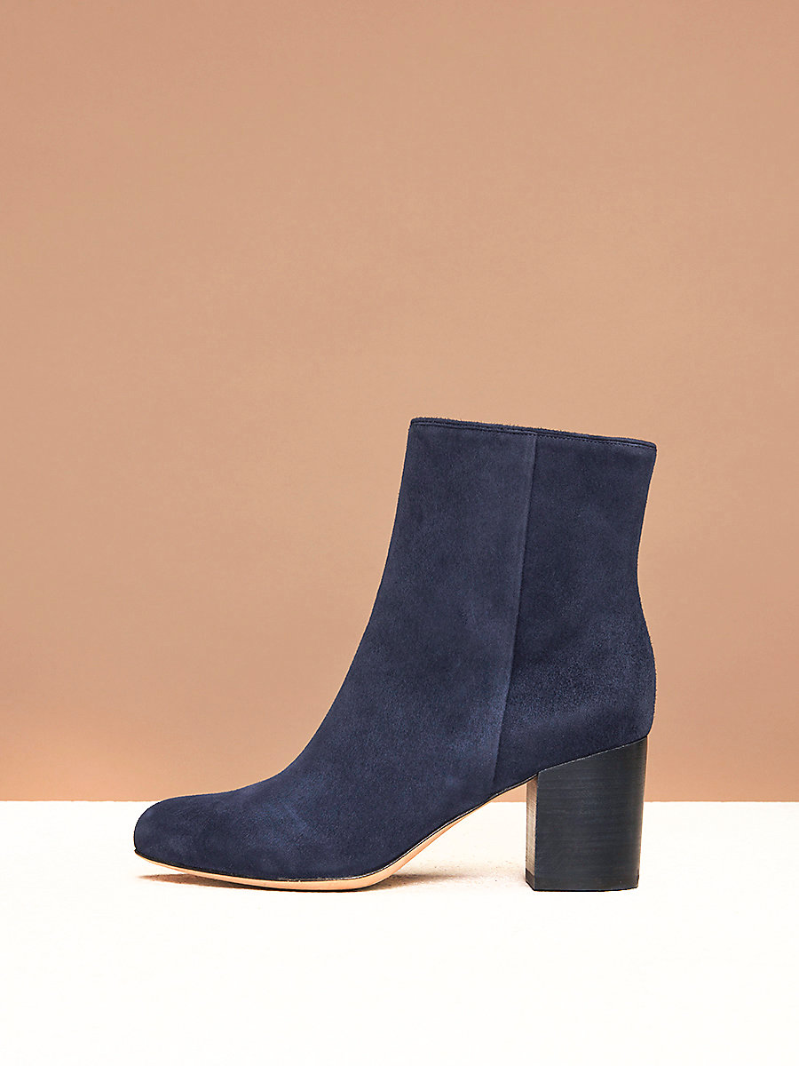 Lannux Boots in Midnight by DVF