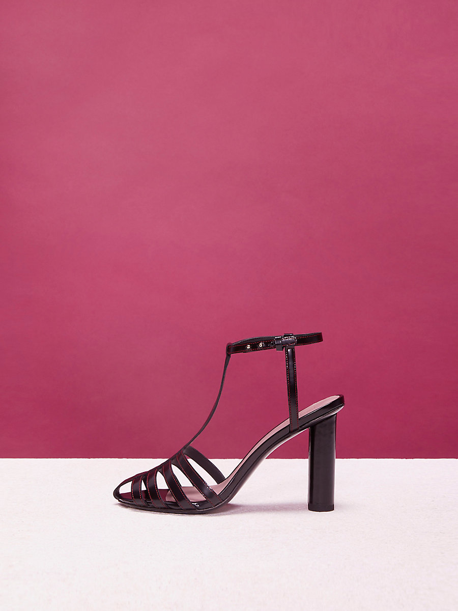 Eva Heels in Black by DVF