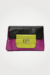 in Black/ Fuschia/ Chartreuse