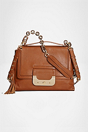 Harper Connect Leather Shoulder Bag