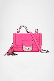 Mini Harper Bag Neon Leather