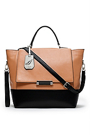 440 Large Top Handle Leather Satchel