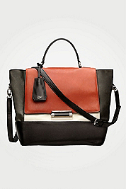 440 Top Handle Large Leather Satchel