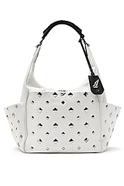 Franco Studded Leather Tote