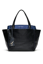 On The Go Leather Tote